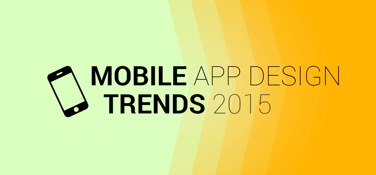 trends mobile design