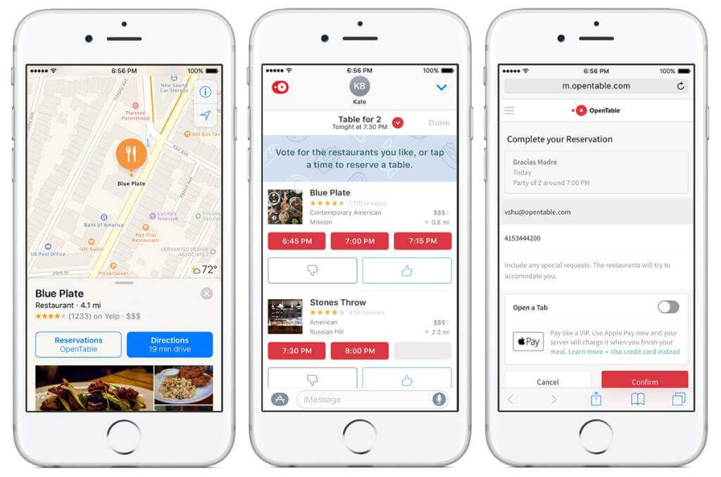Yelp competitor - Open Table