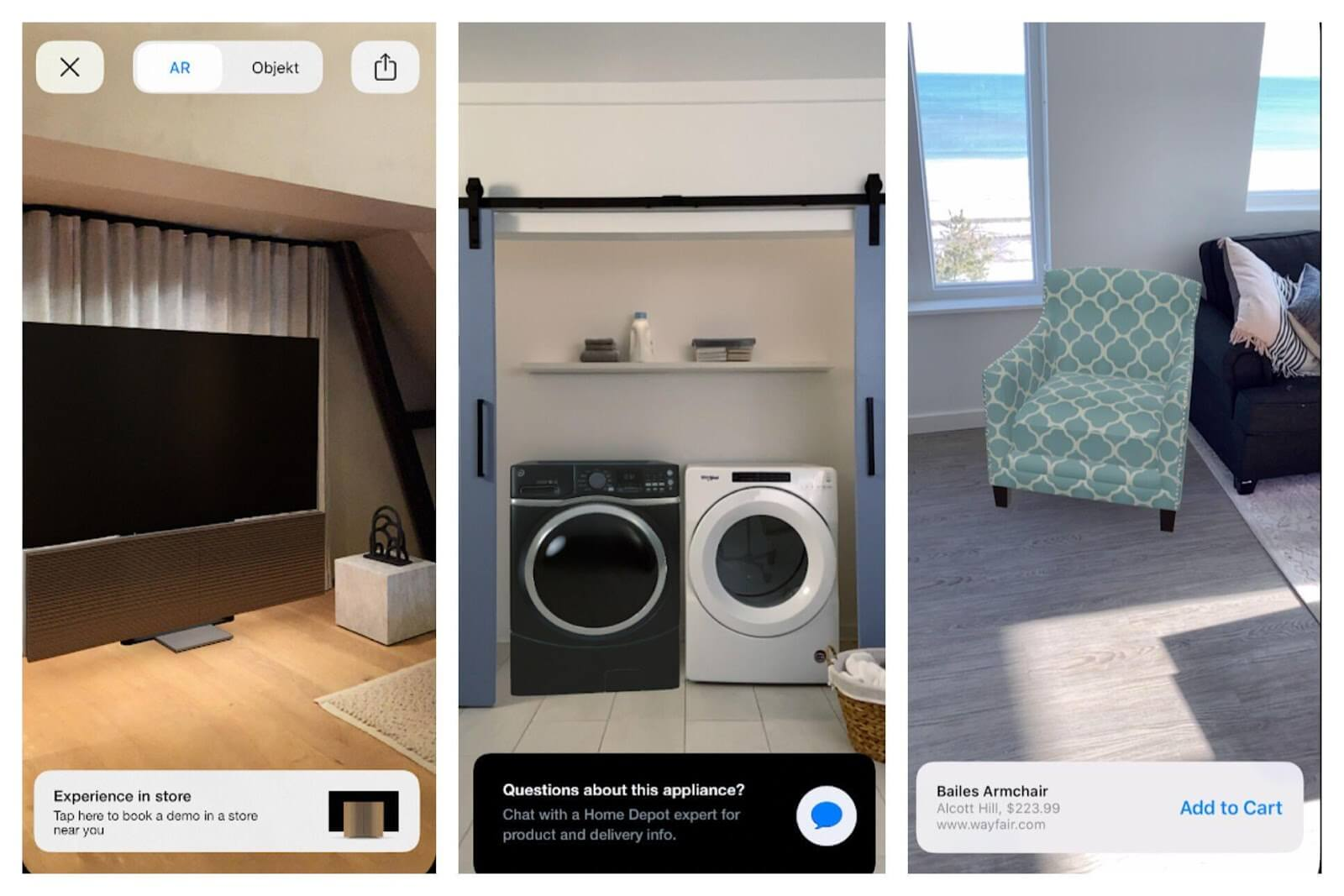 ar in home furniture retail