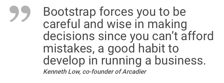 Bootstrap quote for your business