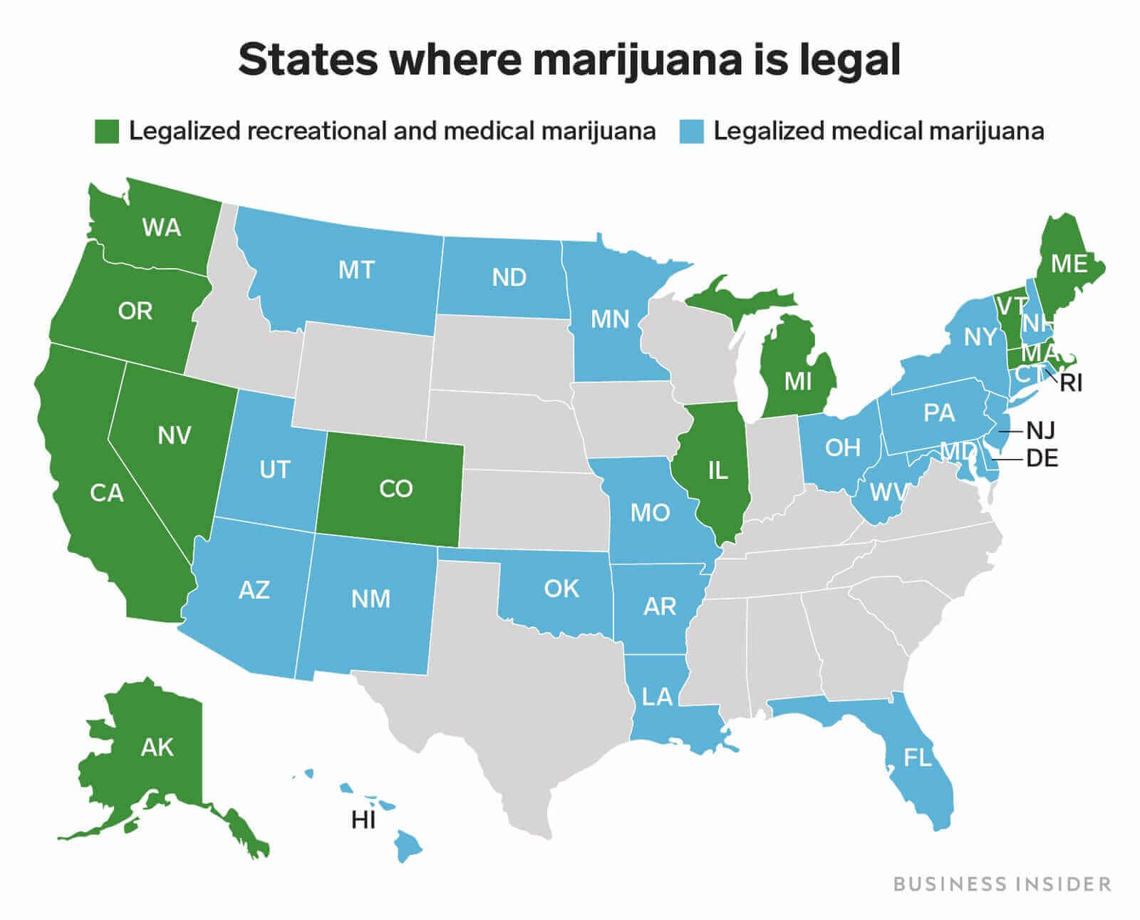 the us medical cannabis legalization