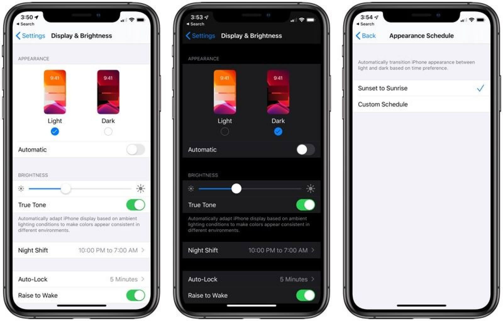 Being one of the most popular iOS 13 rumors, Dark Mood is finally released
