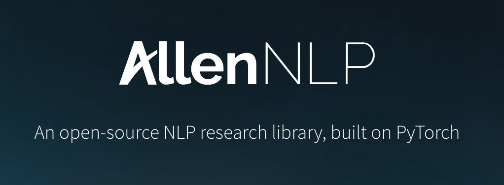AllenNLP - Text Analysis, Sentiment Analysis