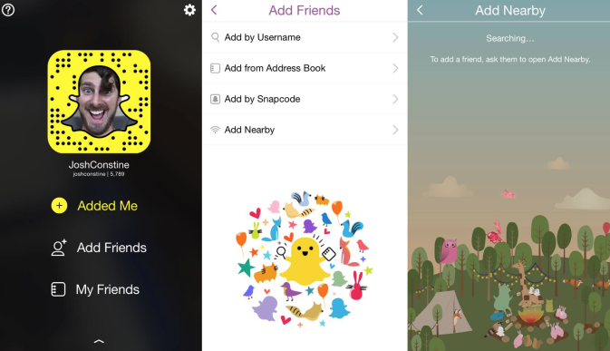 Snapchat geolocation feature which adds $1500 to app cost