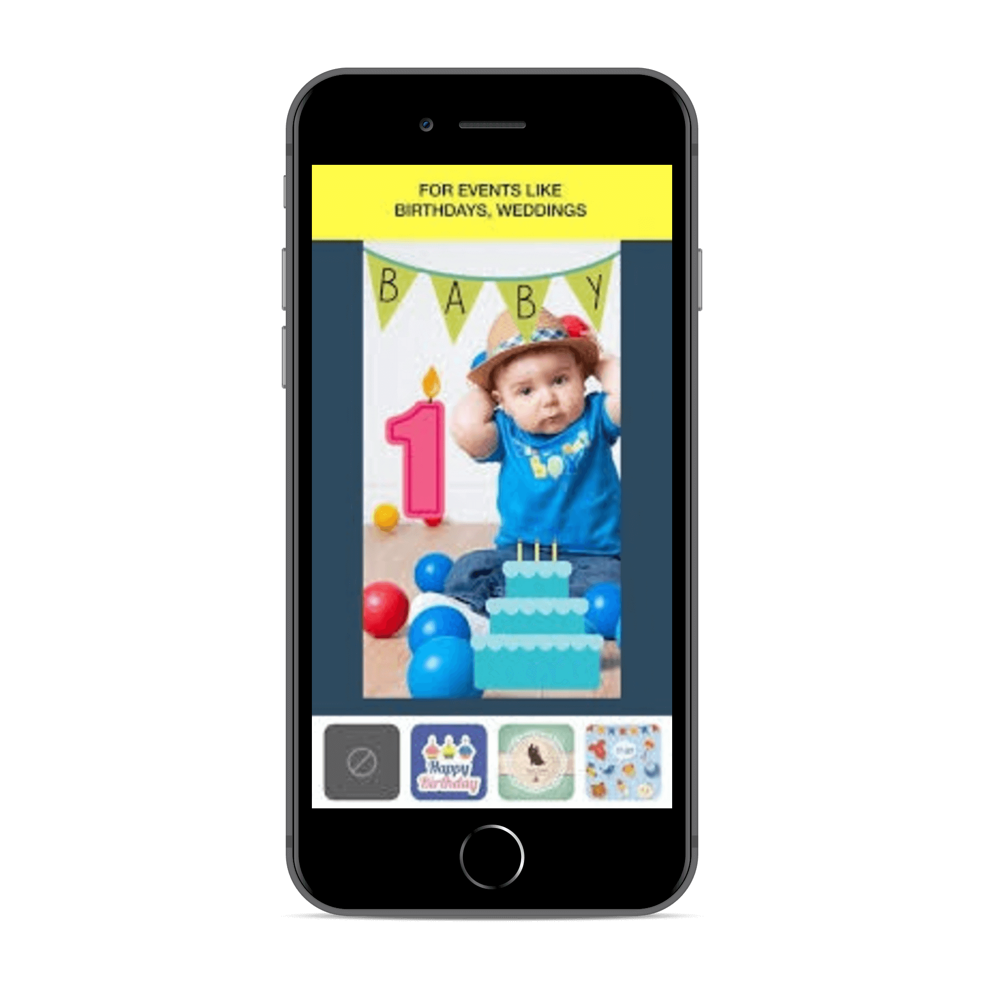 snapchat like app geofilters