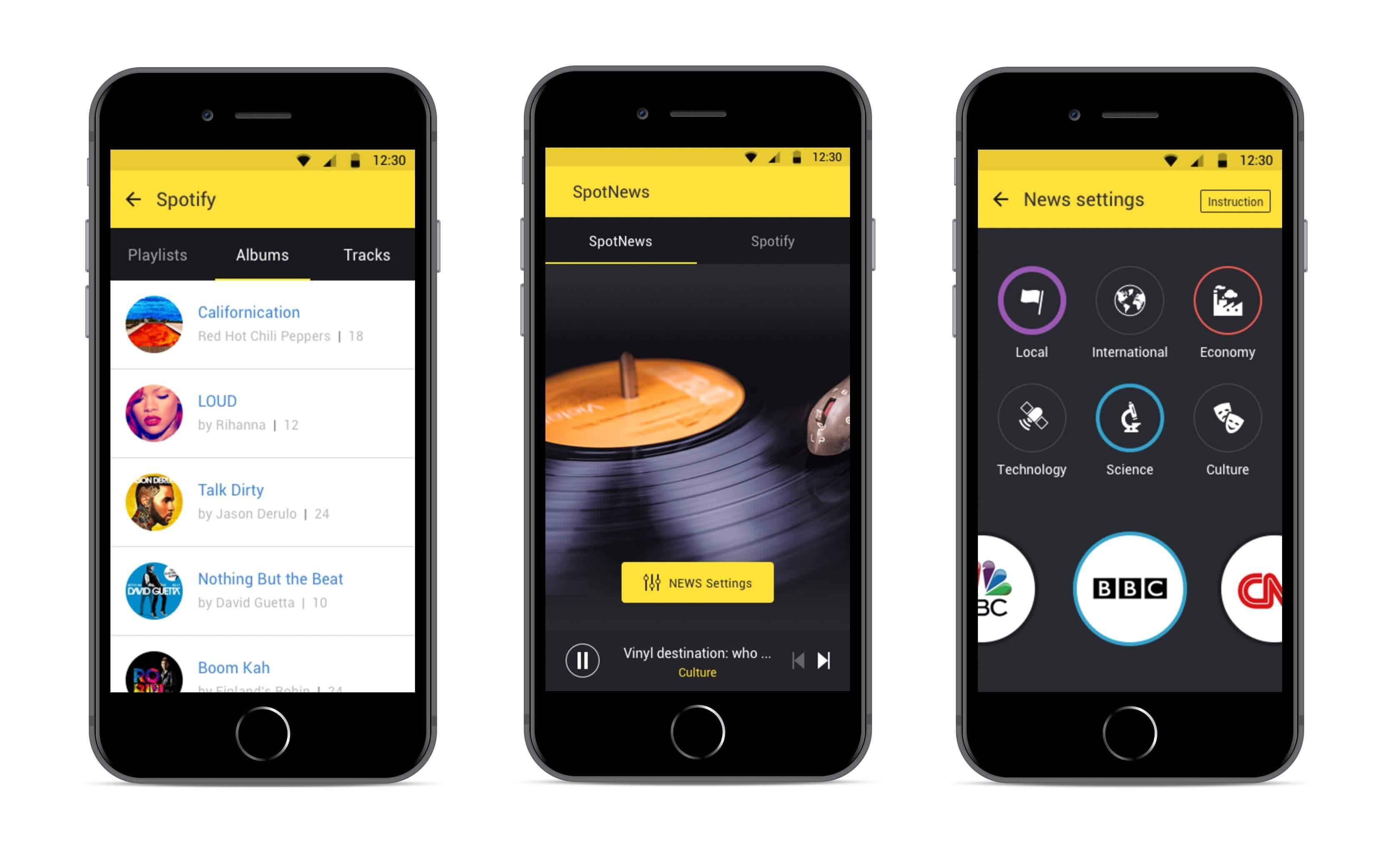 music app example