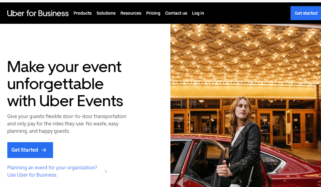 Uber Events.