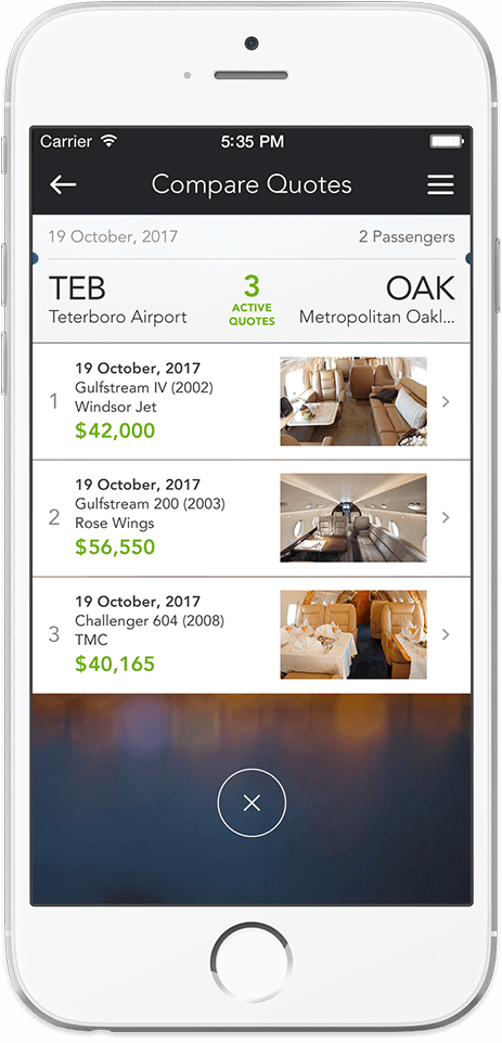how to develop an app for jet booking