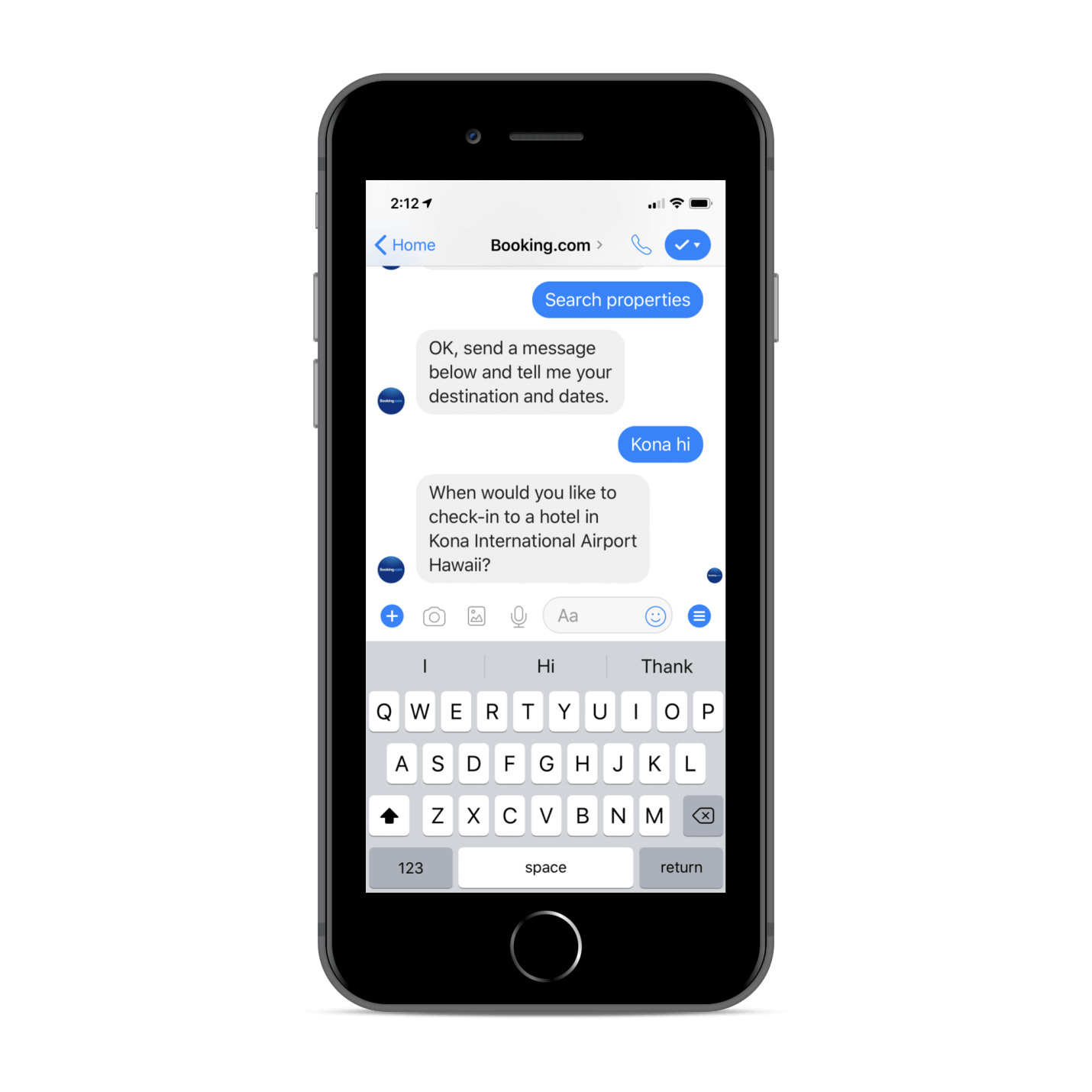 Booking chatbot